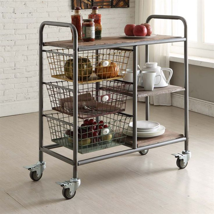 Best 25 Kitchen Trolley Ideas On Pinterest
