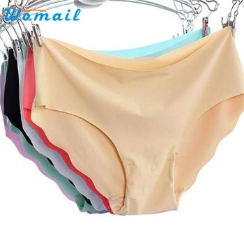 Women Underwear Hot Sales SIF 7 Colours Woman Invisible Seamless Soft String Lingerie Briefs Hipster Underwear Panties 1 pcs 507  Price: 1.32 USD