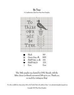 Gallery.ru / Free pattern by plum Street Sampler - В основном птицы/freebies - Jozephina