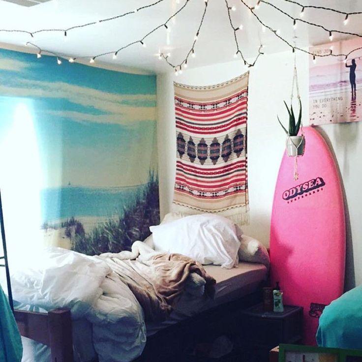 As 20 melhores ideias de Quartos de garota surfista no  ~ Quarto Surf Tumblr