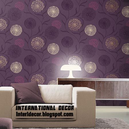 Elegant The Best Gallery Of Modern Living Room Wallpaper Ideas Interior Designs  With Stylish Wallpaper Colors For Modern Living Room Interiors, More Than  10 Modern ...