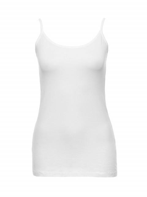 Metalicus - The Cotton Cami  White