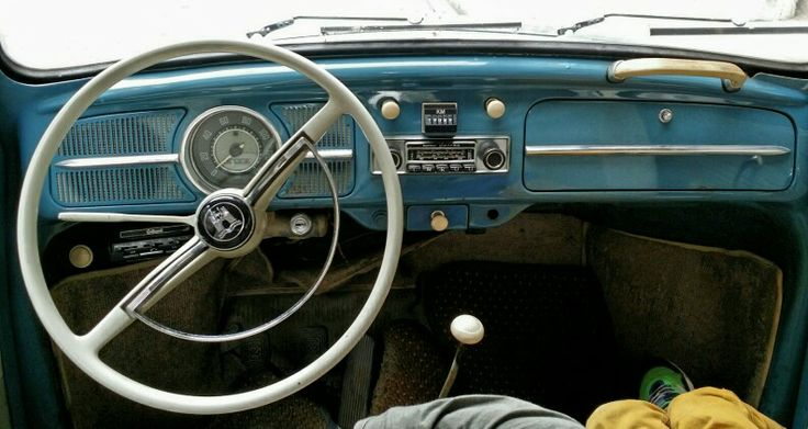 1961 beetle dashboard - when less was more... | 1961 ...