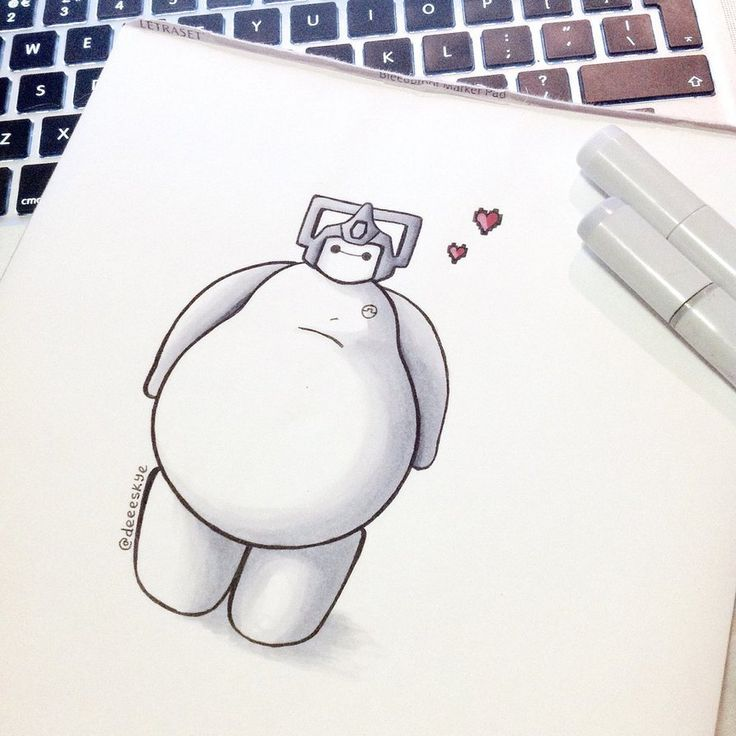 Best Bmax Images On Pinterest Baymax Drawing Disney - Baymax imagined famous disney characters