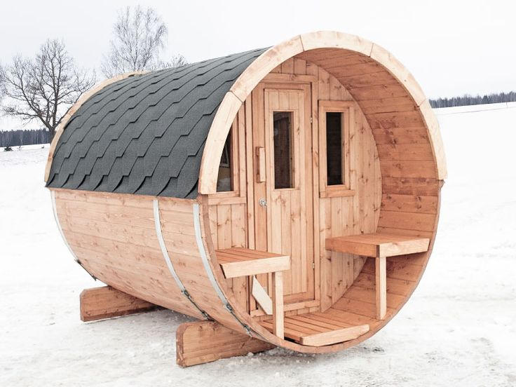 DIY Barrel Sauna