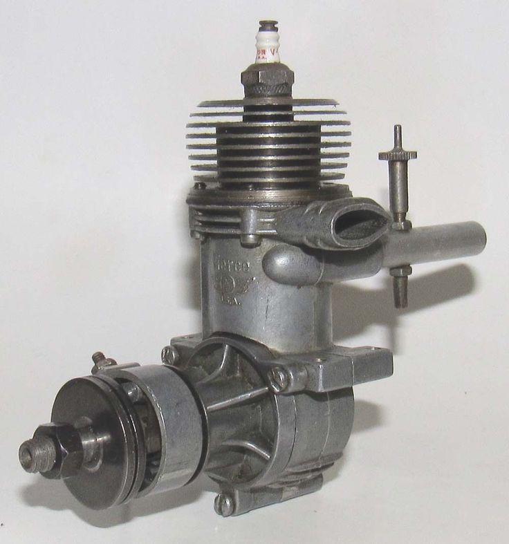 "1947 Pierce Super ""J"" 29 Spark Ignition Model Airplane Engine | eBay"