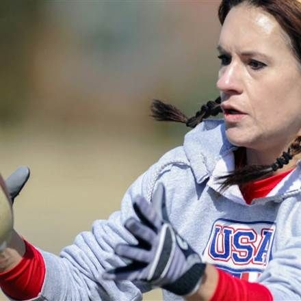 1st Female Coach in NFL History - Jen Welter