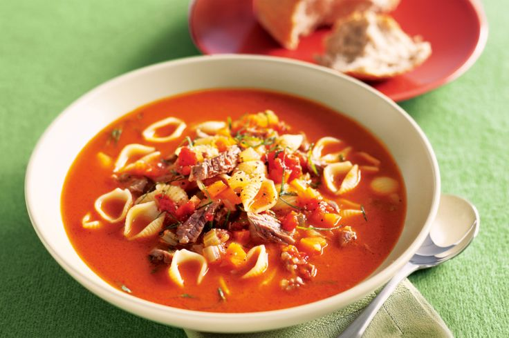 Cook this soup on a nice gentle heat for a long time and you will be rewarded with a heart-warming dinner thats still low in fat.