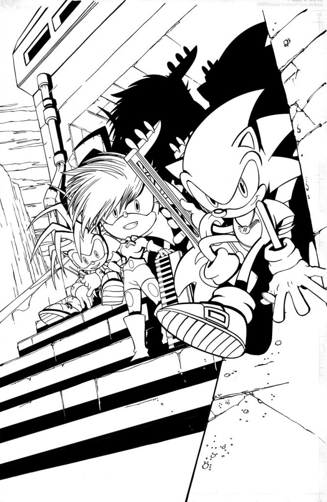 Sonic Underground To Be Finished...In Comic Form -  Sonic Underground wasnt a series anyone asked for. In 1999, the west was finally able to experience Sonic Adventure, a game that, for better or worse, redefined Sonic for a new generation. At the same time, DiC entertainment, who had developed two Sonic animated series concurrently back... http://www.sonicretro.org/2012/10/sonic-underground-to-be-finished-in-comic-form/