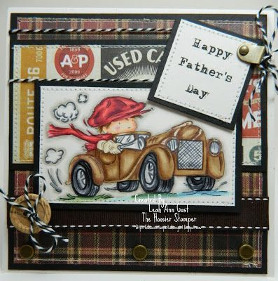 Handmade OOAK Cards by The Hoosier Stamper
