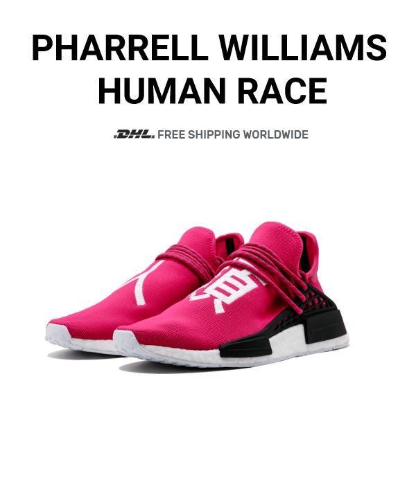 detailed look 48df5 9d47b Price of Human Race Adidas HU Shock Pink / PW online ...
