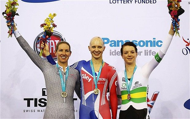 London Olympics 2012: GB cycling champion Joanna Rowsell reveals how alopecia spurred her to gold success