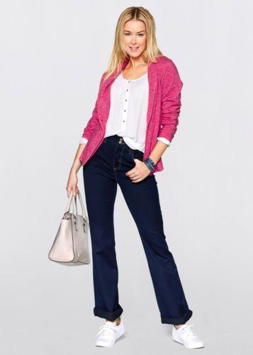 Damen-Blazer-Sweatblazer-Pink-Neu-Gr-42