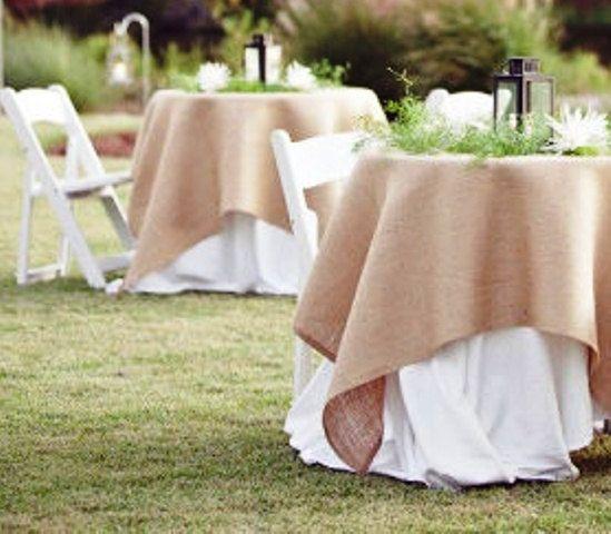 Nice runner rustic tablecloths