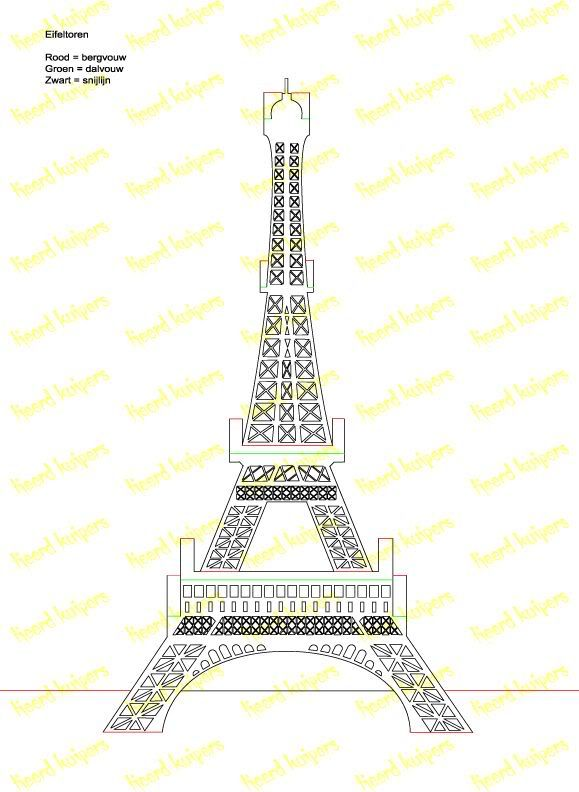 eiffel tower model template - 495 best templates pop up and other cards images on