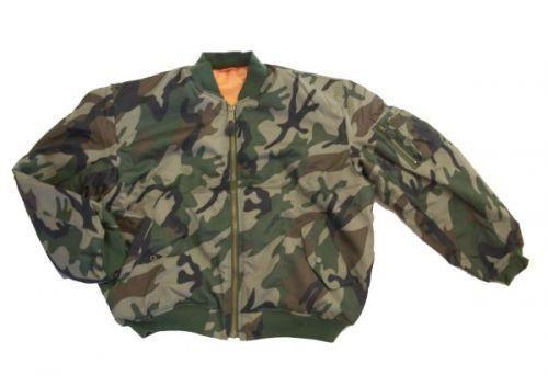 Куртка из камуфляжа