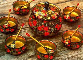 Russian Crafts - Khokhloma