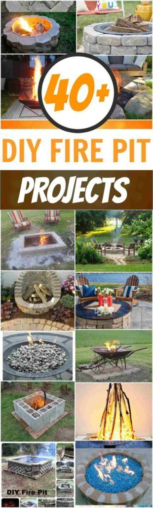 DIY Fire Pits: 40+ Amazing DIY Outdoor Fire Pit Ideas You Must See