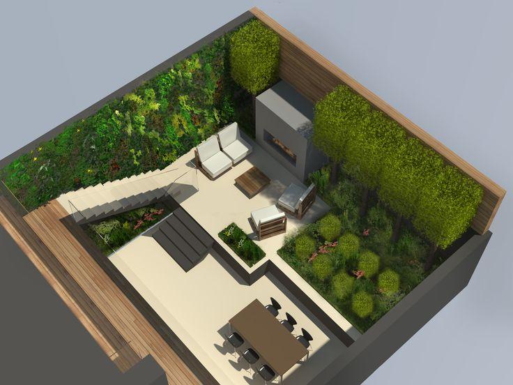 25 best SketchUp images on Pinterest   Landscape design ... on Sketchup Backyard id=43073