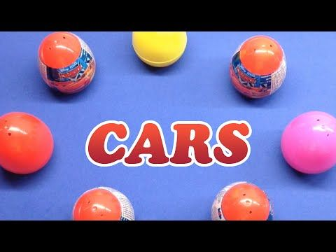 HUEVOS SORPRESA Disney Pixar CARS | Juega con Leo