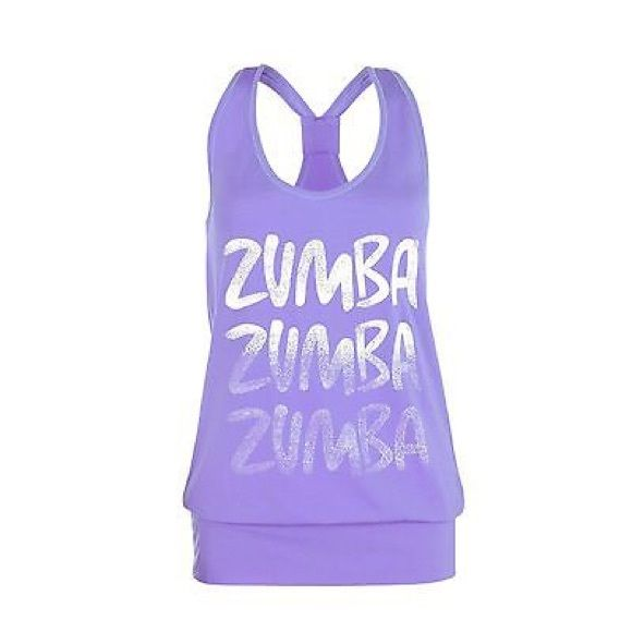 """Radius Bubble Tank - ZUMBA Fitness (orbit) If you're anything like some of us, sometimes you like to throw on a looser fitting tank & really get down! The Radius Bubble Tank has the same classic shape you love, featuring a silky fabric that keeps up with those moves of yours. This tank isn't just """"you're looking nice today"""" flattering, it's """"Whoa, who is that and how do I meet her immediately"""" flattering.What girl doesn't love a little flattery every now and then? Speckled gradient Zumba®…"""