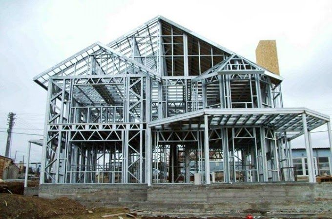 Resultado de imagen para casa fabricadas en estructura metalica  en alemania