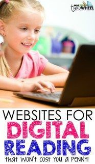 Looking for technology resources that provide digital reading passages and books for 3rd, 4th, and 5th grade? Here's a great list of 15 free reading resources to help your students enjoy reading online.