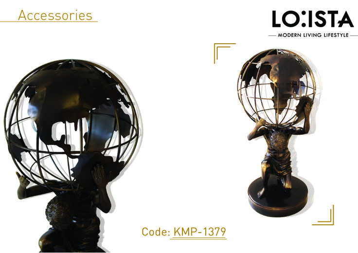Our new accessories to make your house looks beautiful.. It's here our Globe!! Only @loistahome...