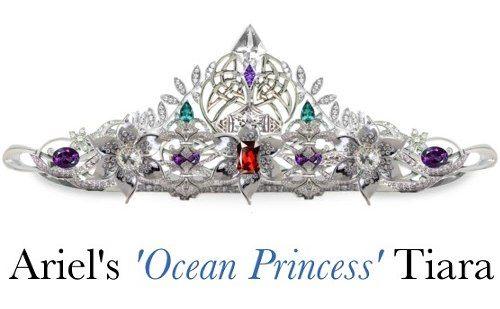 """Тиара """"принцесса океана"""" принцессы Ариэль"""