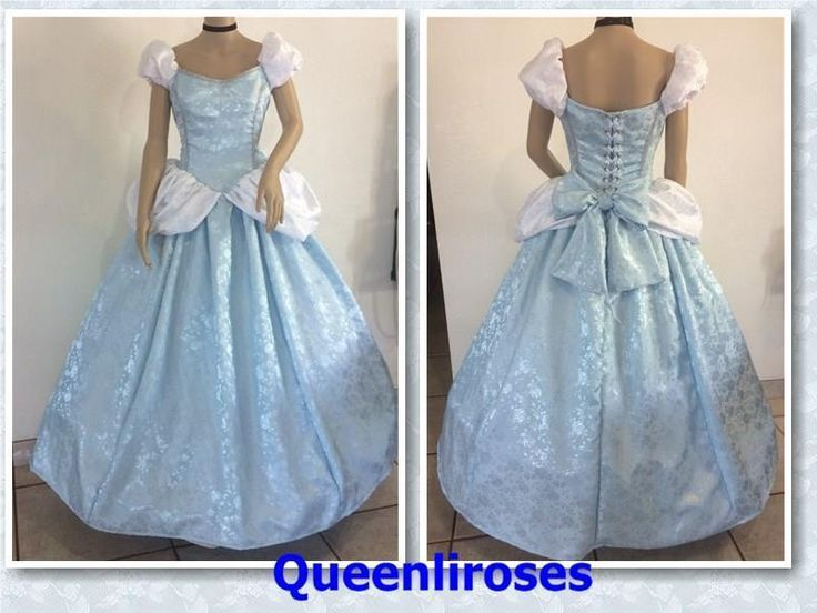 """Cinderella Enchanted Ball Gown Dress, Adult - Your Size Busts 32"""" - 42, U S Made #Dress"""