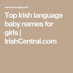 Top Irish language baby names for girls | IrishCentral.com