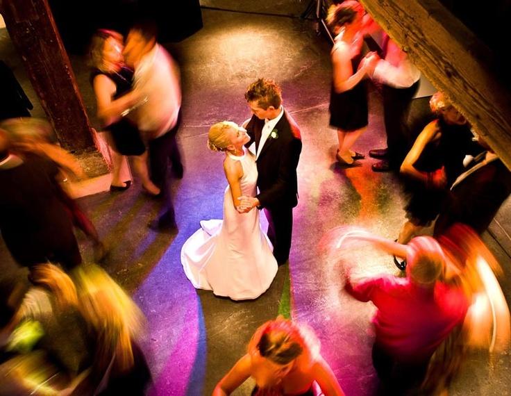 Hochzeit - Langzeitbelichtung
