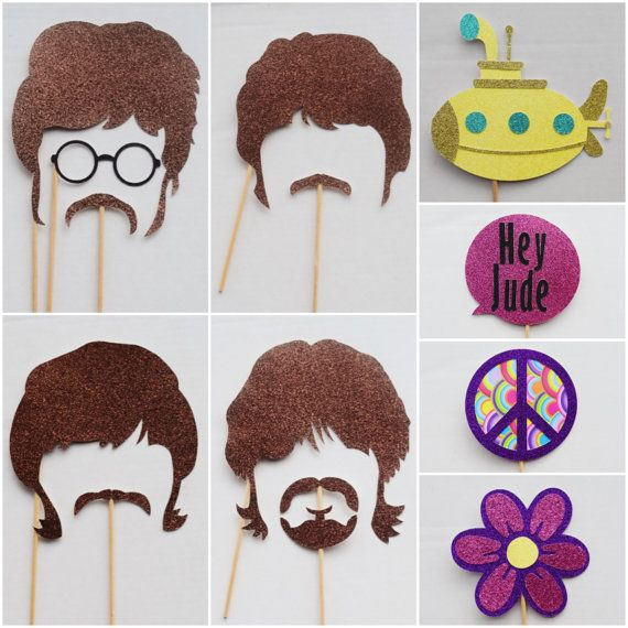 Hey, I found this really awesome Etsy listing at https://www.etsy.com/au/listing/465199422/70s-rock-and-roll-photo-booth-props-70s
