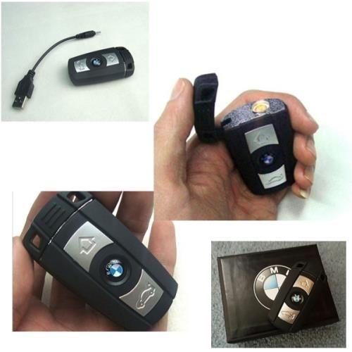 USB Çakmak - BMW Anahtarlık görünümünde sahip bu ürün usb girişi sayesinde şarj olmakta ve sigaranızı dilediğiniz ortamda kolayca yakmanıza imkan sağlamaktadır.