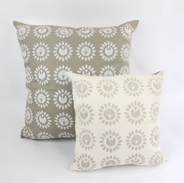 Woodland Collection Scatter Cushions, Designed and Screen Printed in the UK £29.00