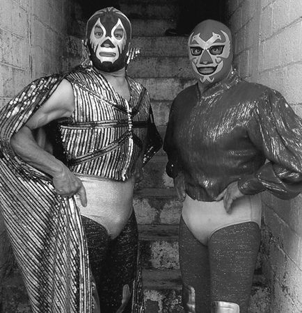 Masked stranger tag team 8