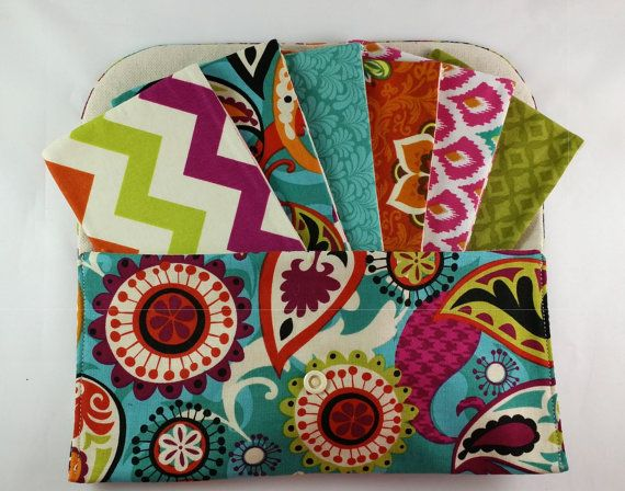 *****This Cash Budget System is great for use with the Dave Ramsey System***** ==============FABRICS===============  Pouch/Envelopes: Funky Paisley