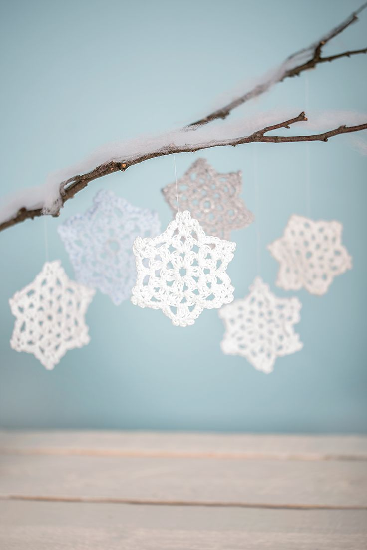 19 best LoveCrochet & Home-Start Crochet Snowflake Appeal images on ...