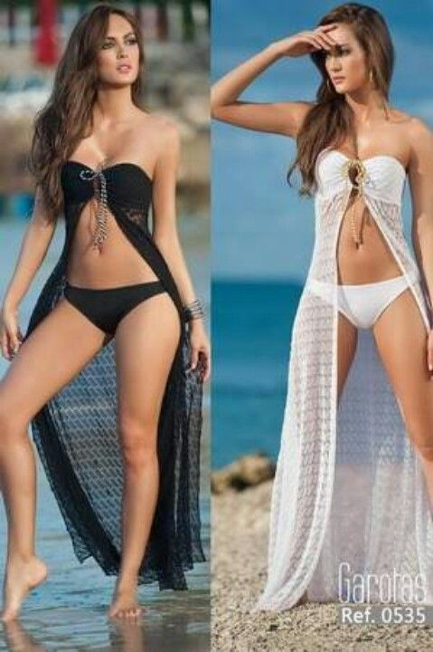 Love these beach cover ups !