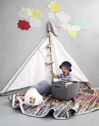 Float on-Sheets and a rod have so many creative possibilities!