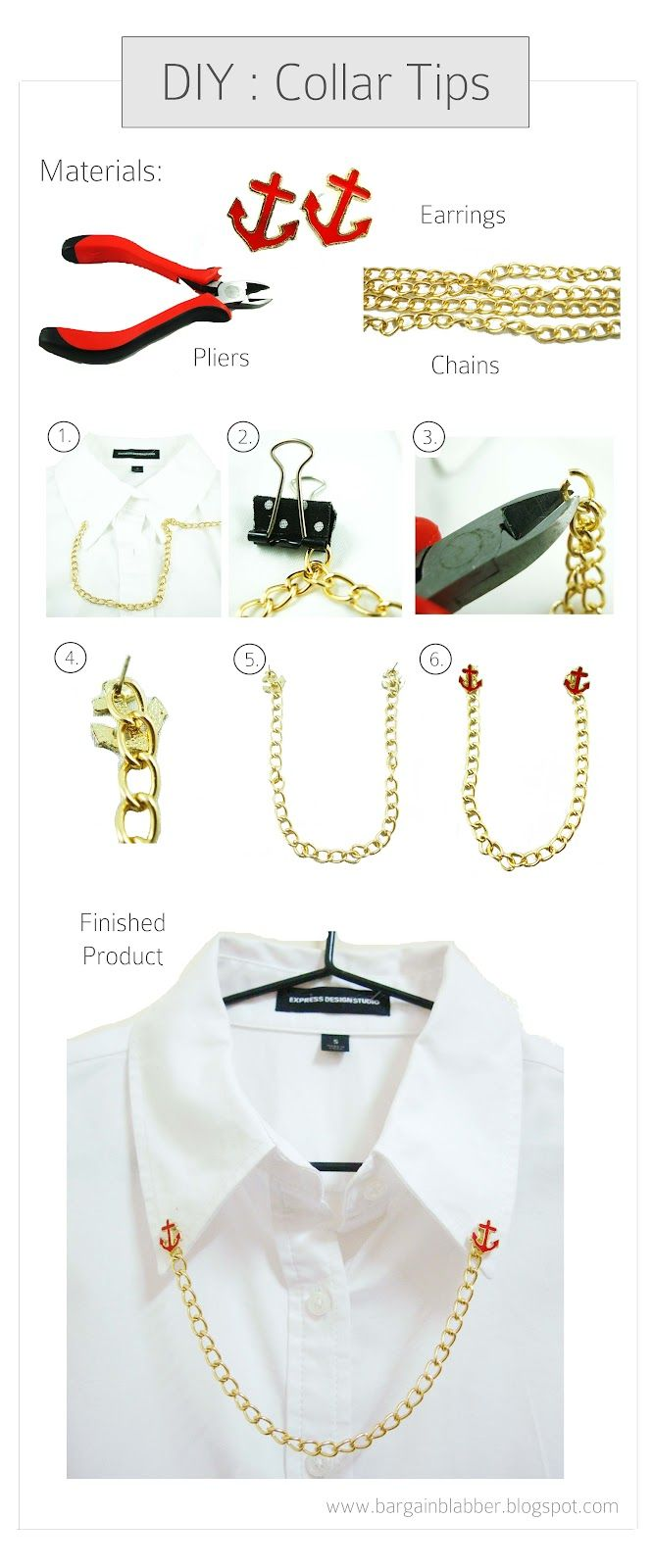 DIY: Collar Tips !
