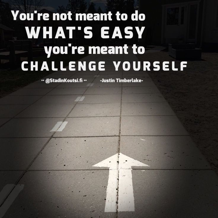 Always #challengeyourself