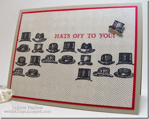 The 155 best guy greetings stampin up 2016 2017 images on leanne pugliese weeinklings guy greetings hats off to you stampin up m4hsunfo