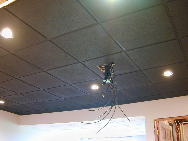 Best 25 acoustic ceiling tiles ideas on pinterest - Can you wallpaper drop ceiling tiles ...