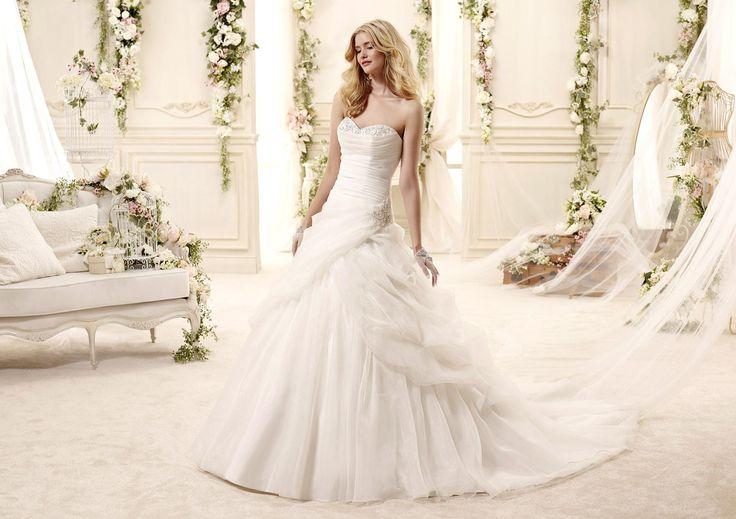 Moda sposa 2015 - Collezione COLET. EMMALEE COAB15329IV. Abito da sposa Nicole.