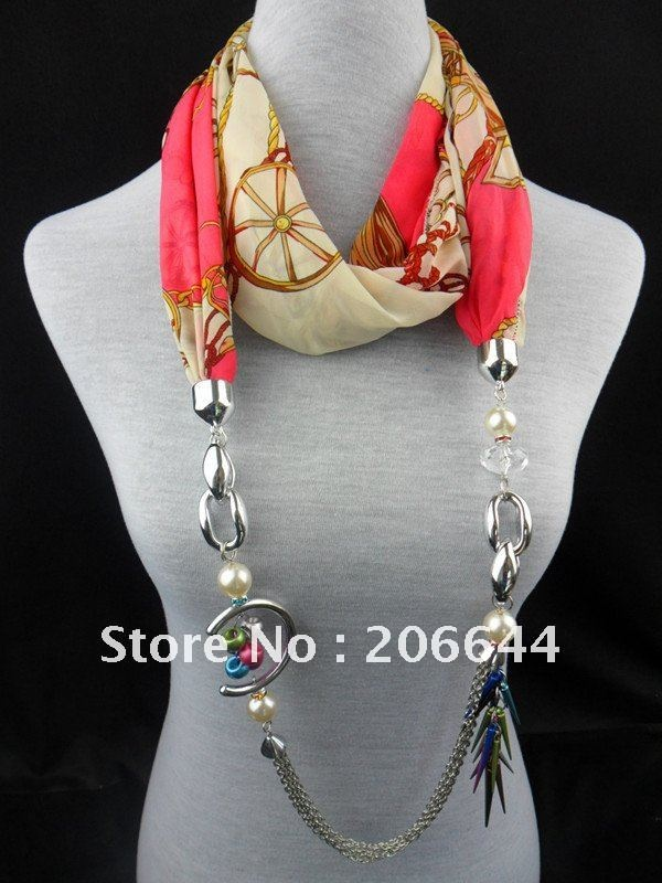Jewelry beads pendnat Modal necklace pendant scarves comfortable scarf-in Apparel Accessories from Apparel & Accessories on Aliexpress.com
