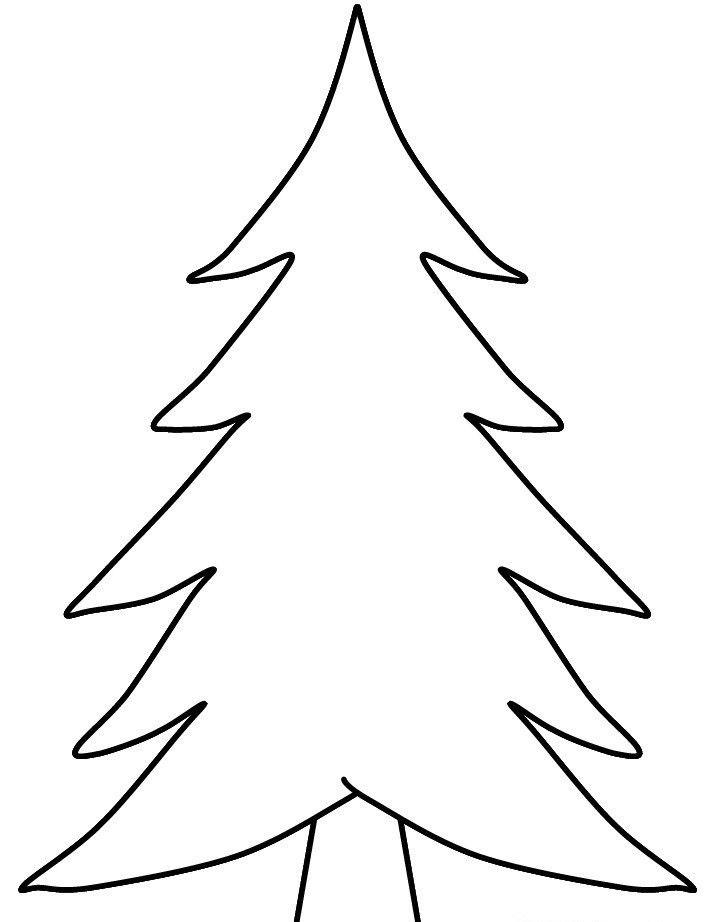 Ağaç-Orman Boyama Sayfaları