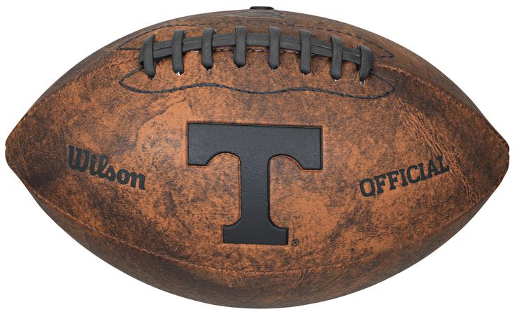 Tennessee Volunteers Football - Vintage Throwback - 9 Inches (backorder)