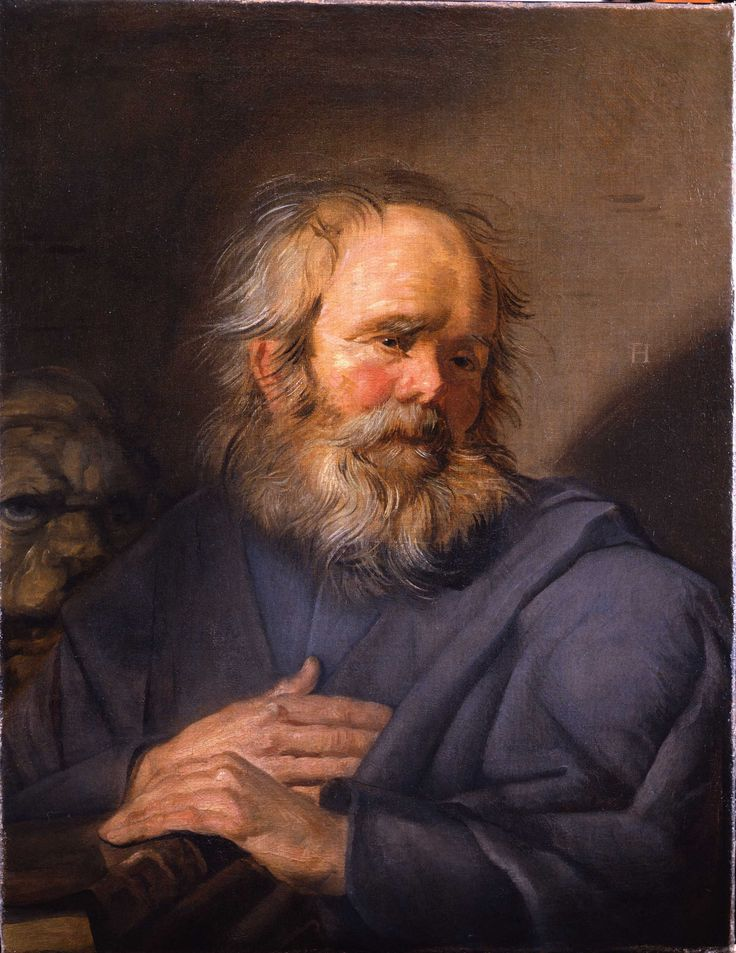 Frans Hals (1582-1666) - St. Mark, 1625-1630 - Mark the Evangelist, the author of the second gospel account, is symbolized by a winged lion – a figure of courage and monarchy.
