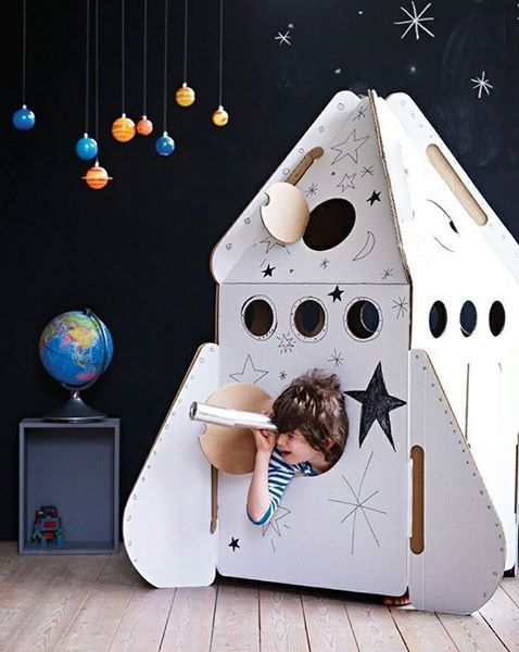 Great idea for little explorers  #handmade #art #design
